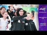 زهرة أول محجبة تكسر الحواجز في ألعاب الثلوج في روسيا