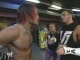 WWE - Matt Hardy gets a Smack in face from Jeff Hardy