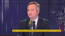 """Brexit: """"Les négociations sont plus au sein de la classe politique britannique, plutôt qu'avec l'UE"""", estime Jean-Baptiste Lemoyne"""
