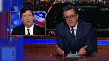 Stephen Colbert Blasts Tucker Carlson: 'He's Been Saying Just Awful Stuff For Years'