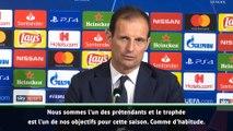 """Allegri : """"La Juve n'est pas le favori"""""""