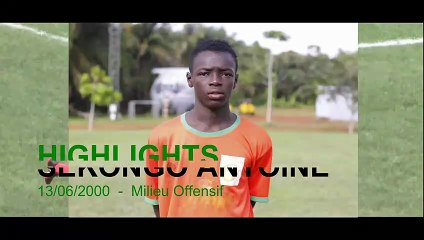 HIGHLIGHTS SEKONGO ANTOINE_Ivoire Académie_Mars2019