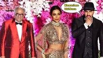 Arjun Kapoor ,Would be WIFE Malaika Arora & DAD Boney Kapoor At Akash Ambani GRAND Wedding Reception