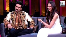 Ranveer & Deepika Gush About Each Other In An Unseen Video Of Koffee With Karan