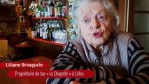 Liliane et Marcel, bientôt centenaires et toujours au service dans leur bistrot
