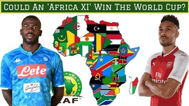 African All Stars Starting XI