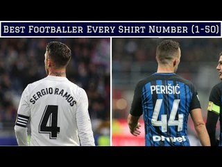 Best Footballer For EVERY Shirt Number (1-50)