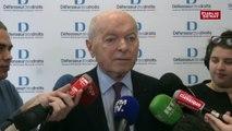 """Baisse des services publics: """"de moins en moins de présence humaine """" pointe Jacques Toubon"""