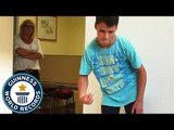 Most finger snaps in one minute - Guinness World Records