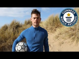 John Farnworth: Saharan Football Challenge - Guinness World Records