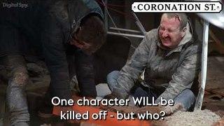 Coronation Street: Roof collapse to kill off character | Rana abandons her wedding (Week 12)
