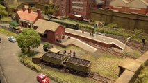 """N Scale Micro Minimum Space Model Railway Layout """"Priory Lane"""" by Malcolm Goodger 