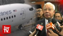 Najib: Wrong move to sell or shut down Malaysia Airlines