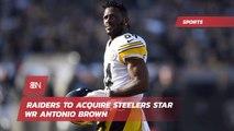 Raiders Will Get Antonio Brown
