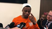 Thunder's Westbrook says 'racial' insult was catalyst for threat to courtside fans