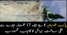 Pakistan successfully test-fires indigenously developed smart weapon from JF-17 Thunder jets
