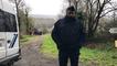 Affaire Troadec. Hubert Caouissin avec les enquêteurs dans sa ferme à Pont-de-Buis