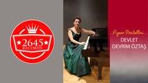 Devlet Devrim Öztaş - W. A. Mozart Sonate Sonate Nr 14 Do Min (2. Bölüm)