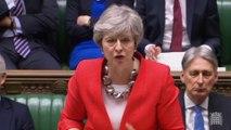 """""""Le Brexit pourrait être perdu"""": Theresa May lance un avertissement aux députés britanniques"""