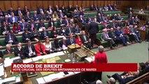 REPLAY - Theresa May s'exprime devant le Parlement britannique avant le vote sur le Brexit