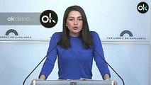 """Arrimadas acusa a Carles Puigdemont de """"mentiroso compulsivo"""" por decir que volverá si es elegido"""