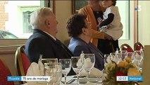 Picardie : 75 ans de mariage pour Odette et Jacques Lejeune