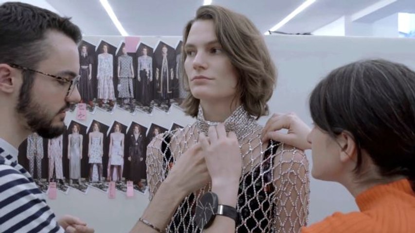 The Magical Making of Paco Rabanne's 144-Hour Crystal Dress