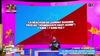 """Laurent Ruquier importuné par le """"Journaliste Gilet jaune"""" : les réactions des chroniqueurs"""
