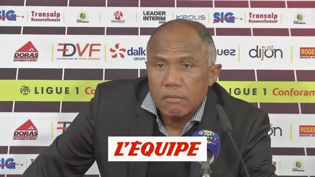 Kombouaré «On n'a pas fait grand-chose pour embêter Paris» - Foot - L1 - Dijon