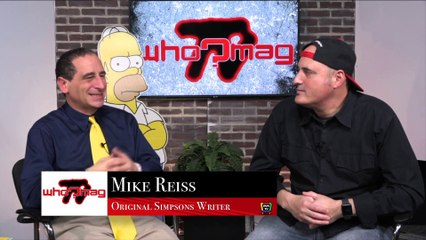 "WHO?MAG TV - Mike Reiss on Pulling the Michael Jackson ep of The Simpsons - ""He may have used our show as some sort of seduction"""