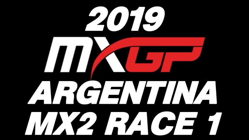 2019 MXGP of Patagonia Argentina MX2 Race 1 HD