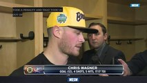 Chris Wagner Explains What Went Wrong In Bruins' Loss To Blue Jackets