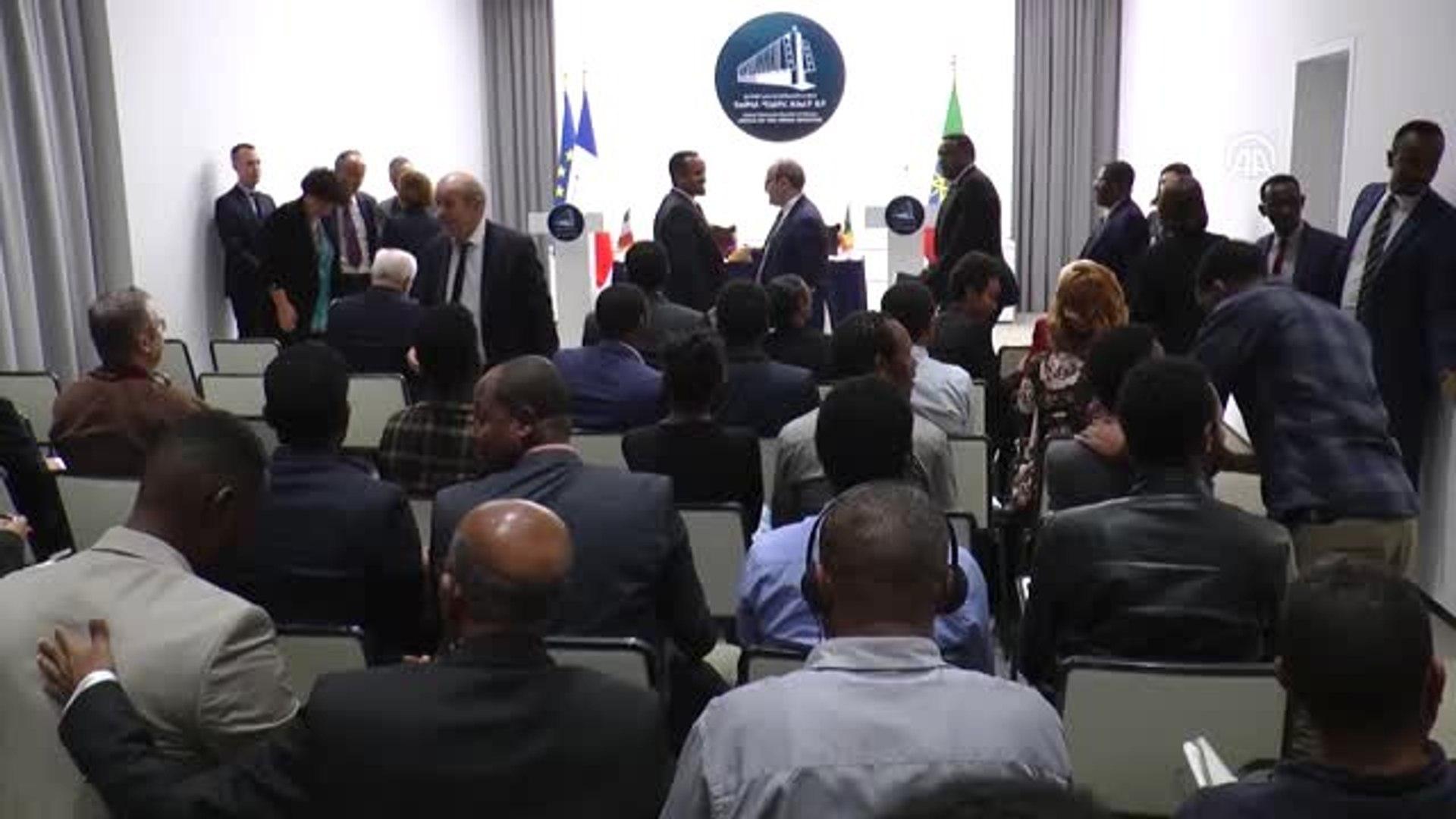 Macron'dan Etiyopya'da Askeri İş Birliği Vurgusu - Addis Ababa