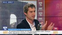"""François Ruffin (LFI): """"Emmanuel Macron habite avec la caste, il vit avec la caste, il baigne dans la caste, il prend des décisions pour la caste"""""""