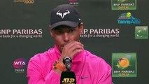 ATP - Indian Wells 2019 - Rafael Nadal se méfie du qualifié Filip Krajinovic qu'il jouera jeudi en huitièmes
