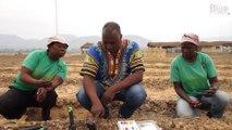 Un agriculteur écologiste veut faire changer les pratiques agricoles en Centrafrique