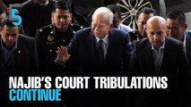 EVENING 5: Najib claims trial to SRC charges