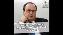 François Hollande, candidat aux municipales à Tulle ?