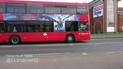 London Buses at Rainham - January 2019