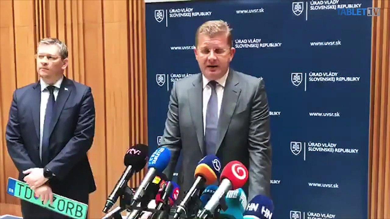 ZÁZNAM: Brífing ministra hospodárstva P. Žigu