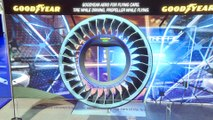 Automobile : Good Year - pneu-hélice pour voiture volante (salon de l'auto de Genève)