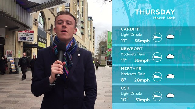 WEATHER: March 14th 2019