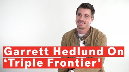 Garrett Hedlund Breaks Down 'Triple Frontier' And Meaning Behind Airborne Ranger Cadence