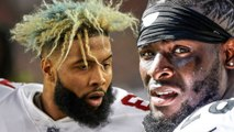 Odell Beckham Jr to Browns & Le'Veon Bell to Jets Creates INSANE Twitter FRENZY