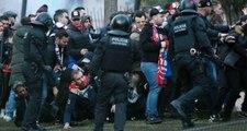 Barcelona-Lyon Maçı Öncesi Kavga! 5 Fransız Gözaltına Alındı