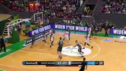 7Days EuroCup Highlights Quarterfinals, Game 3: UNICS 69-65 Lokomotiv
