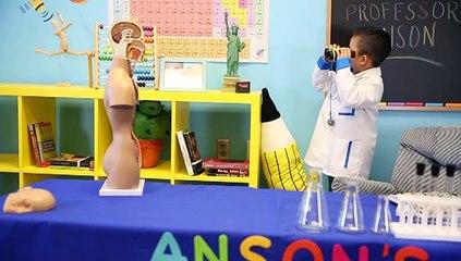 Meet smart kid Anson Wong | Anson's Answers