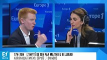 """Adrien Quatennens (LFI) : """"Le grand débat est un vrai flop"""""""