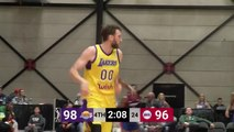 Spencer Hawes Posts 17 points & 11 rebounds vs. Grand Rapids Drive
