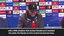 (Subtitled) Klopp hails 'big night with little shadow' for Liverpool in UCL